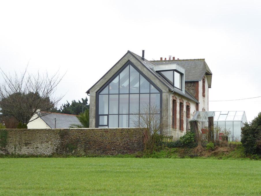 R novation compl te d 39 une maison pordic 22 remise en valeur mnm a - Renovation maison 1970 ...