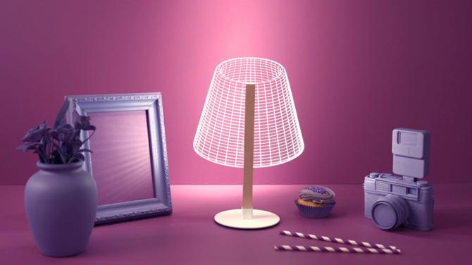 Lampada Origami Di Edward Chew : Design: lampade bidimensionali studio cheha osso magazine